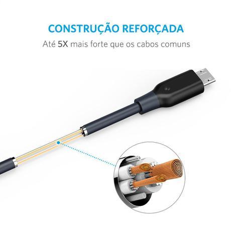 Imagem de Cabo Anker Powerline Micro USB 1,8 metros Cinza