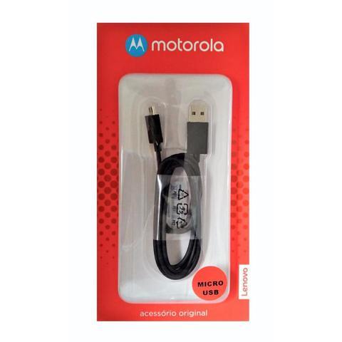 Imagem de Cabo de Dados Original Motorola Usb/Micro Usb Preto