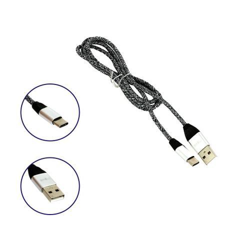 Imagem de Cabo De Dados Reforçado USB Tipo C Listrado CBO-5689 - Inova