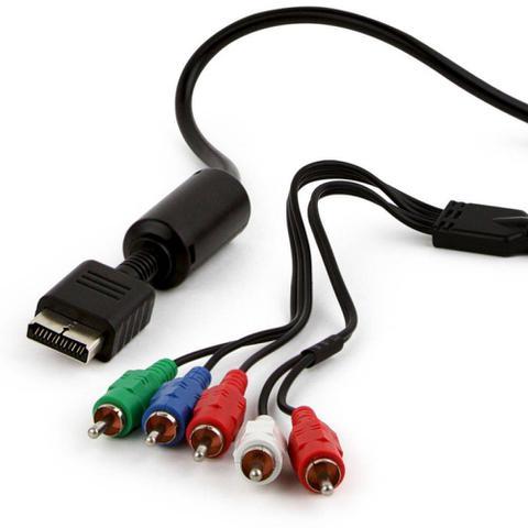 Imagem de Cabo de Vídeo Componente 1080p para Playstation 2 e 3 PS2 PS3