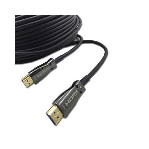 Imagem de Cabo Hdmi 2.0 Hdr 4K Fibra Óptica 18Gbps 10 Metros