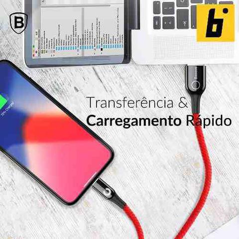 Imagem de Cabo Lightning com Luz Integrada 2.4A 1 Metro