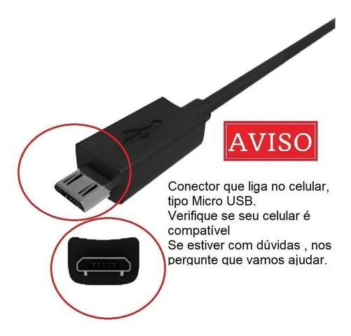 Imagem de Cabo Micro Usb Turbo para linha Motorola Moto G G2 G3 G4 G5 E
