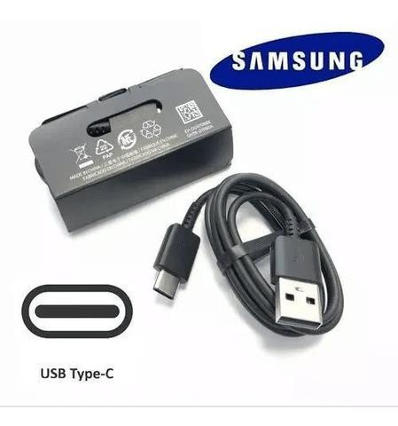 Imagem de Cabo Original Samsung S8 S9 S10 / A70 A50 A9 / Note 8 9 Tipo C Turbo
