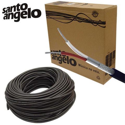 Imagem de Cabo Para Microfone Santo Angelo X30 Balanceado 50 Metros