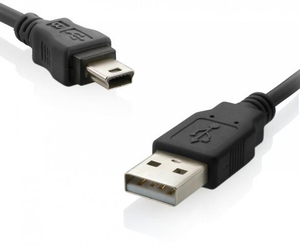 Imagem de Cabo USB e Mini USB 5 PIN para Câmeras Canon (1.5m)