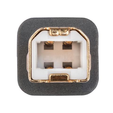 Imagem de Cabo USB High Speed Para Áudio Tipo AB USB DAC  Supra Cables 2mt Branco