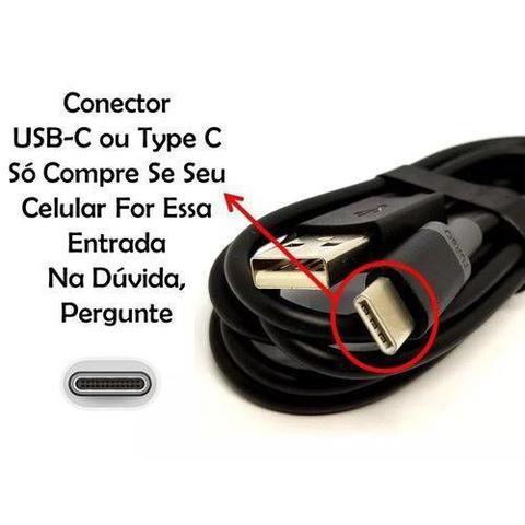 Imagem de Cabo Usb Tipo C Turbo Power Original Motorola Moto G6 Plus G7 One X4 Z2 Z3 Play Preto