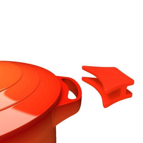 Imagem de Caçarola Le Cook Revestimento Antiaderente Cerâmico com Alças de Silicone 32cm