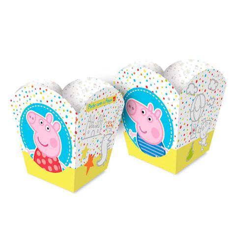 Imagem de Cachepot Papel Peppa Pig Baby com 08