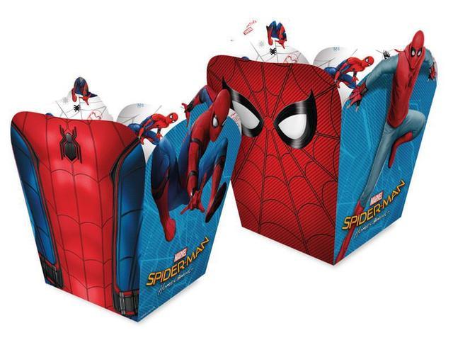 Imagem de Cachepot Spider Man Home 8 unidades - Regina Festas