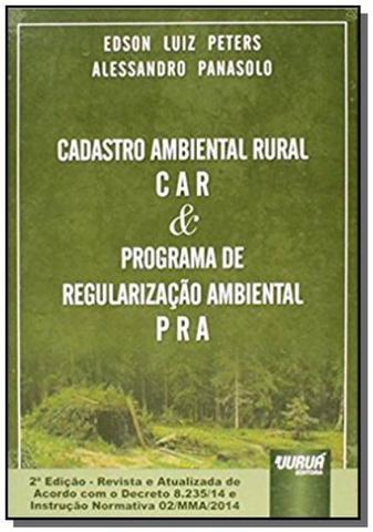 Imagem de Cadastro ambiental car e programa de regularizacao