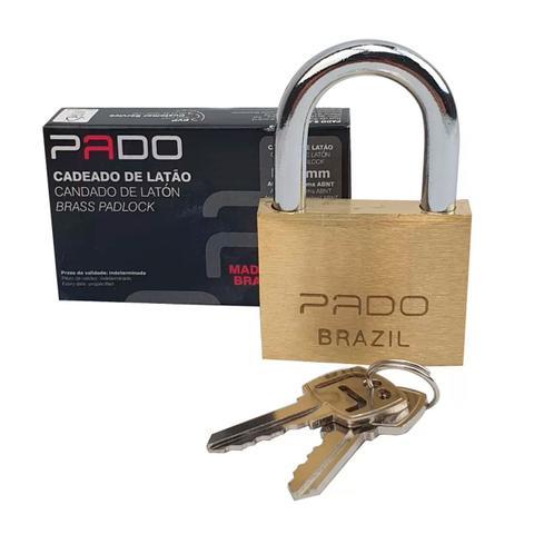 Imagem de Cadeado Clássico Latão 40 Mm - Pado