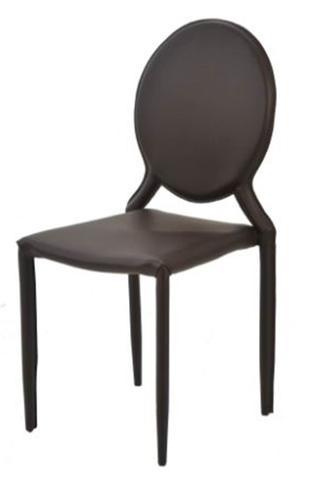 Imagem de Cadeira Amanda Medalhao 6606 em Metal PVC Marrom - 32675