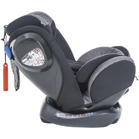 Imagem de Cadeira Auto Bebê Reclinável Stretch Melange Preto 0-36Kg - Kiddo