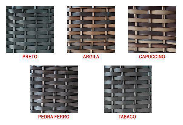 Imagem de Cadeira Balanço Mola Fibra Sintética Para Área Varanda Edícula