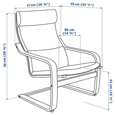 Imagem de Cadeira Balanço Poltrona Papai Madeira Moderna Pontoflex