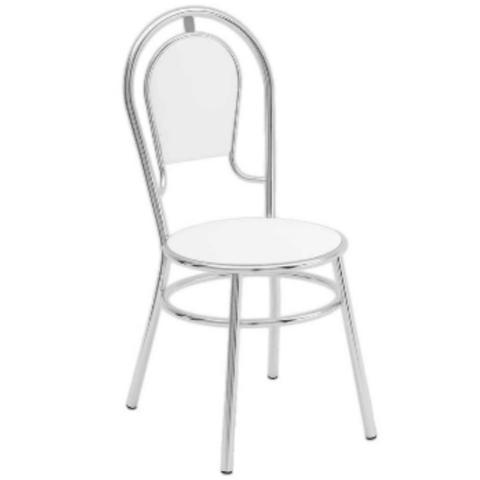 Imagem de Cadeira C-95 Fixa Napa Branca - Brigatto