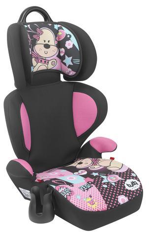 Imagem de Cadeira Cadeirinha Carro Auto Supreme Rosa Menina Bebê 15-36kg