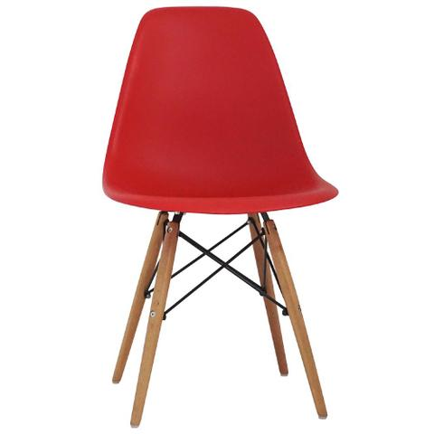 Imagem de Cadeira Charles Eames Wood Design Cores Nf Dsw
