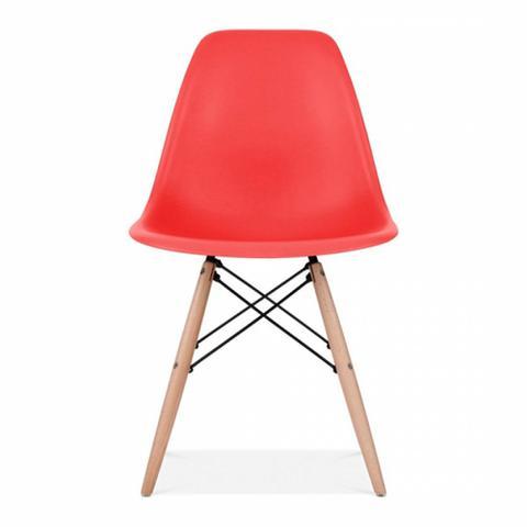 Imagem de Cadeira Charles Eames Wood Eiffel - Vermelha