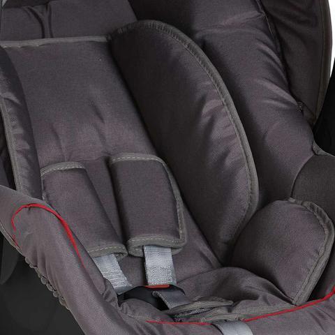 Imagem de Cadeira Concoon para Auto Grafite/Vermelho Base Arredondada para Balanço - Galzerano