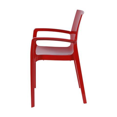 Imagem de Cadeira Cream Vermelha