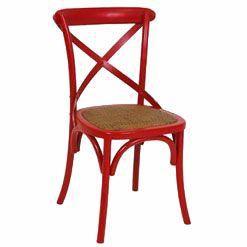 Imagem de Cadeira Cross Vermelha Michael Thonet