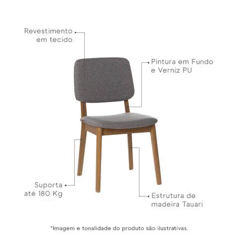 Imagem de Cadeira Dadi com Encosto - Grafitte