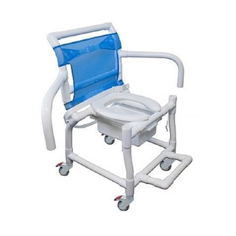 Imagem de Cadeira de Banho Carcilife em PVC - Capacidade 95 Kg