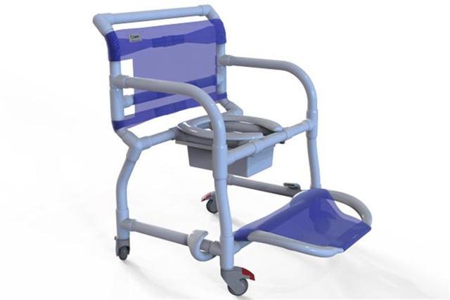 Imagem de Cadeira de Banho em PVC Carci 300CLO