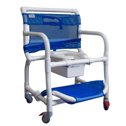 Imagem de Cadeira de Banho para Obeso Carcilife - Capacidade 150 kg - Carci