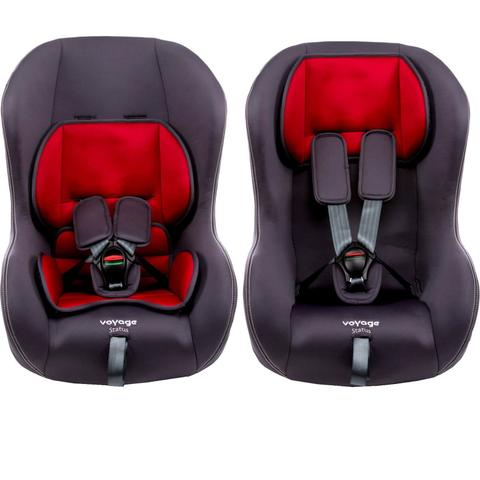 Imagem de Cadeira de Bebê 0 até 25 Kg Status Voyage Cinza e Vermelho