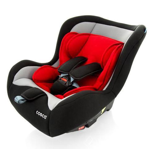 Imagem de Cadeira De Bebe para Auto Simple Safe Cosco 0 A 25kg - Vermelho