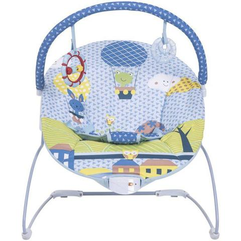 Imagem de Cadeira de Descanso para Bebê Kiddo Joy Nova Versão - Azul - Lenox