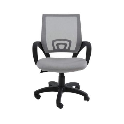 Imagem de Cadeira de Escritório com Rodízios Office Santiago Rivatti Cinza