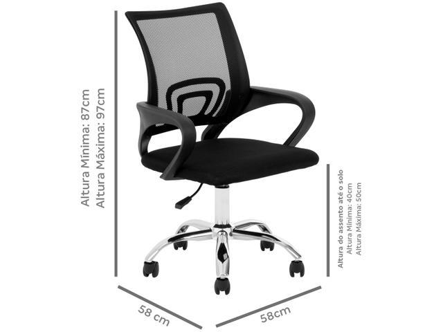 Imagem de Cadeira de Escritório Diretor Giratória DIR-002