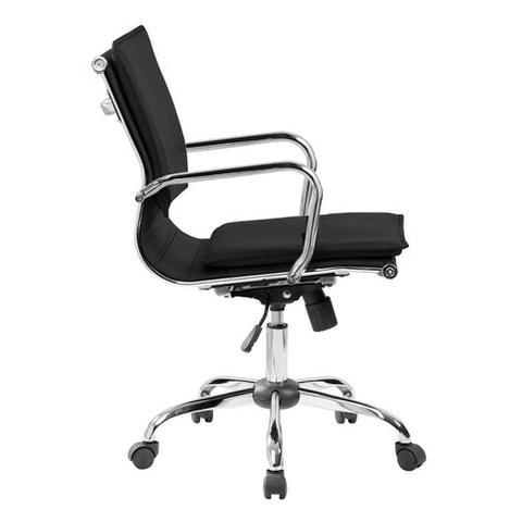 Imagem de Cadeira de Escritório Diretor Giratória Eames Comfort Preta