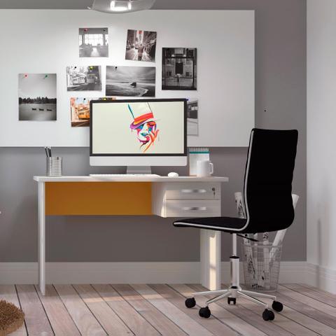 b7f7417f8 Cadeira de Escritório Diretor Giratória Marilyn Plus Preta - Mobly ...