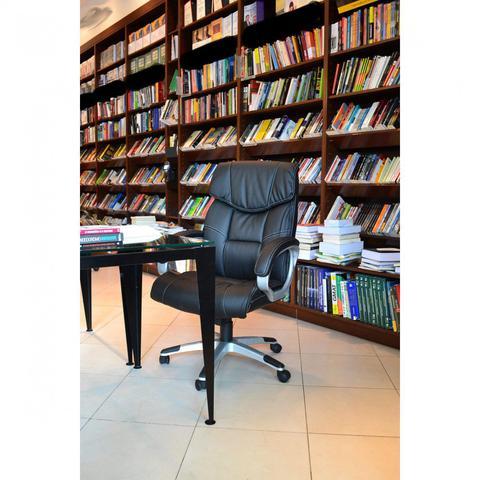 Imagem de Cadeira de Escritório Massageadora Office Cartagena Rivatti Preto