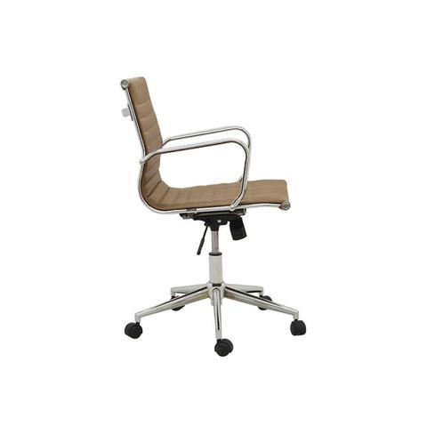 Imagem de Cadeira de Escritório Office Sevilha Baixa Rivatti Marrom Escuro