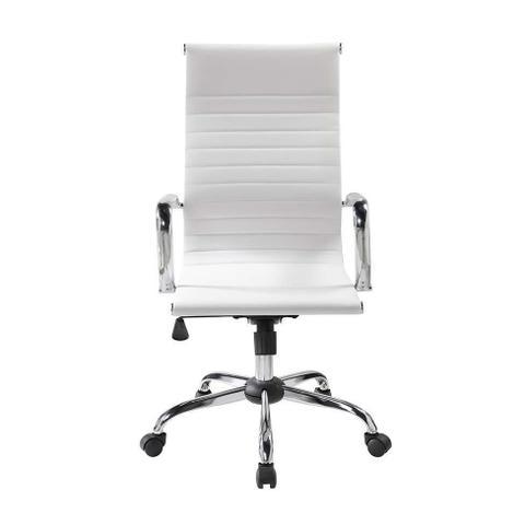 Imagem de Cadeira de Escritório Presidente Giratória Eames Best Branca