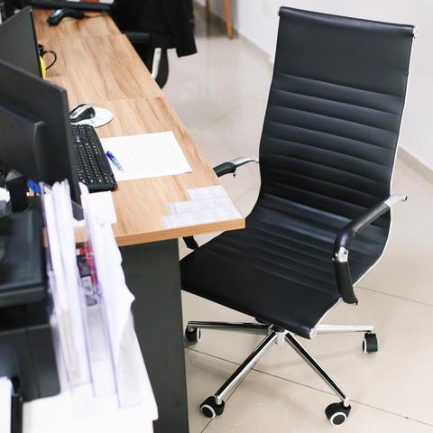 Imagem de Cadeira De Escritório Presidente Giratória Stripes Eames