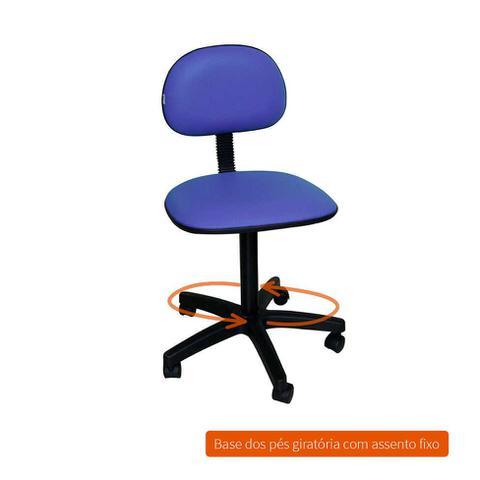 Imagem de Cadeira de Escritório Secretária Giratória Direction I Azul