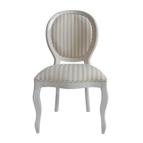 Imagem de Cadeira de Jantar Medalhão Lisa Sem Braço - Wood Prime 15651