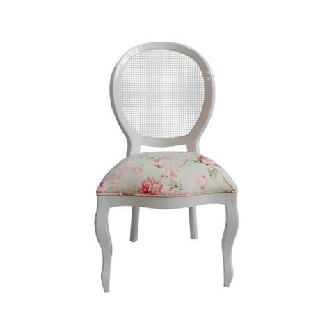 Imagem de Cadeira de Jantar Medalhão Lisa Sem Braço - Wood Prime 15687