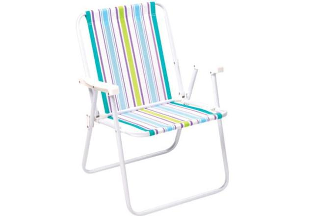 Imagem de Cadeira de Praia e Piscina Alta 2002 Cores Variadas MOR