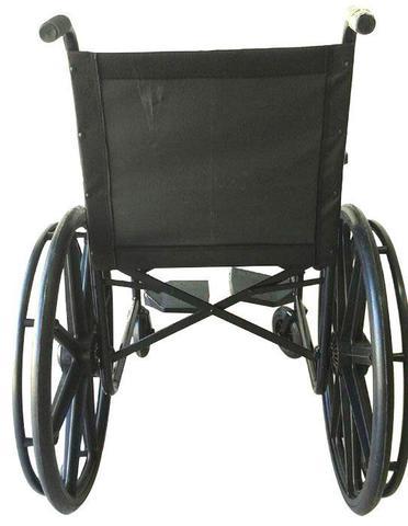 Imagem de Cadeira de Rodas Assento de Nylon Pés Fixos 40cm Prolife PL 001