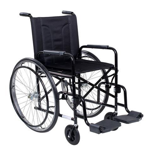 Imagem de Cadeira De Rodas Cds M2000 Preta Com Pneus infláveis