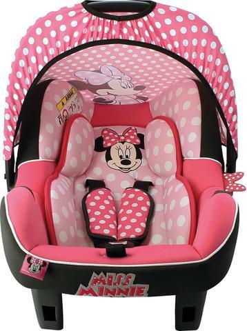 Imagem de Cadeira de Seguranca P/ Carro Beone Minnie 0 a 13KG Rosa Nania